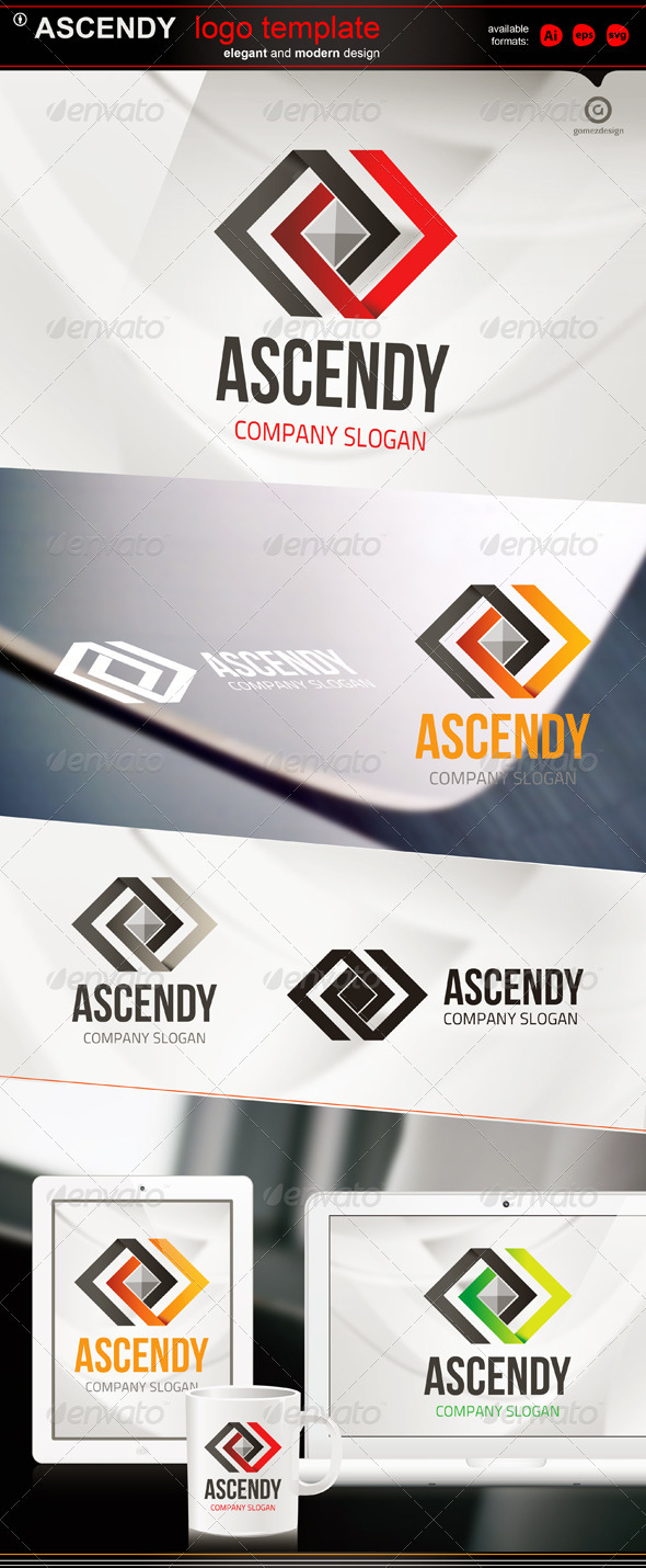 Ascendy - Logo Templates