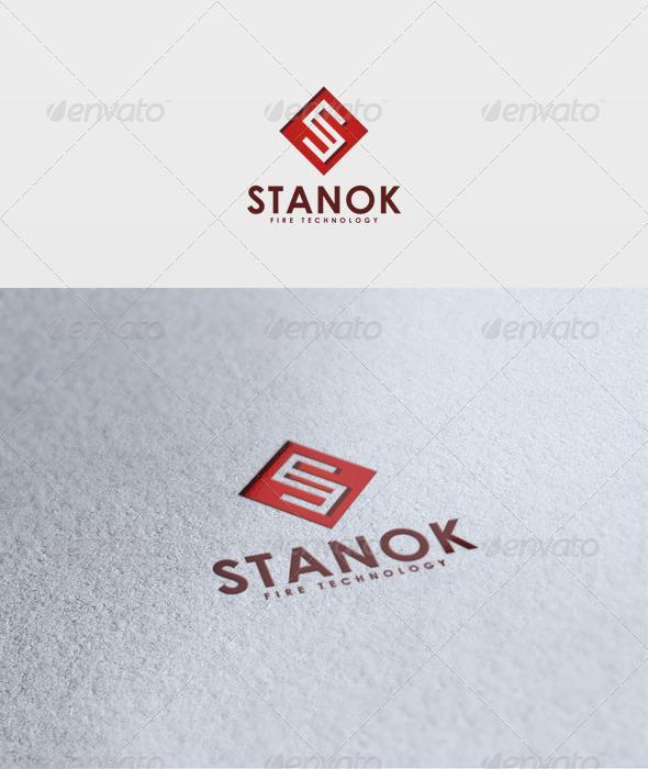 Stanok Logo - Letters Logo Templates