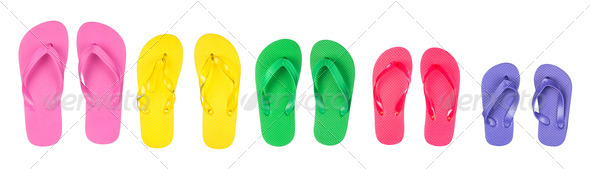 Flip flops - Stock Photo - Images