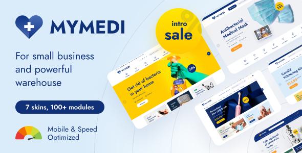 MyMedi – eCommerce HTML Template
