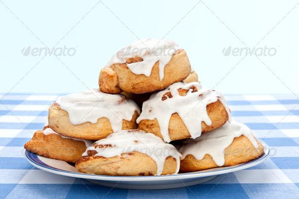 Cinnamon rolls - Stock Photo - Images