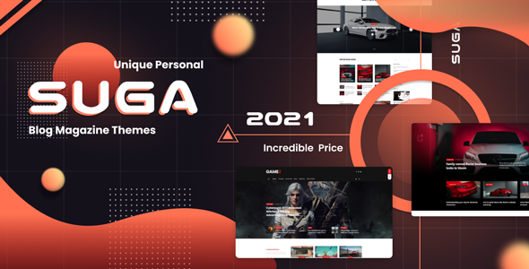 Suga - Ecommerce Magazine WordPress Theme