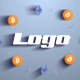 Bitcoin Crypto Mining Logo - VideoHive Item for Sale