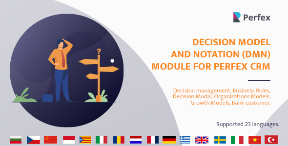 Download Decision Model and Notation(DMN) Module for Perfex CRM Free Nulled