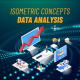 Data Analysis - Isometric Concept - VideoHive Item for Sale