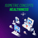 Healthiness - Isometric Concept - VideoHive Item for Sale
