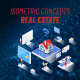 Real Estate - Isometric Concept - VideoHive Item for Sale