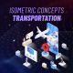 Transportation - Isometric Concept - VideoHive Item for Sale