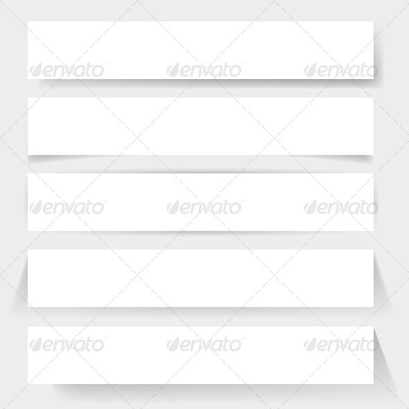 Paper board shadows - Miscellaneous Vectors