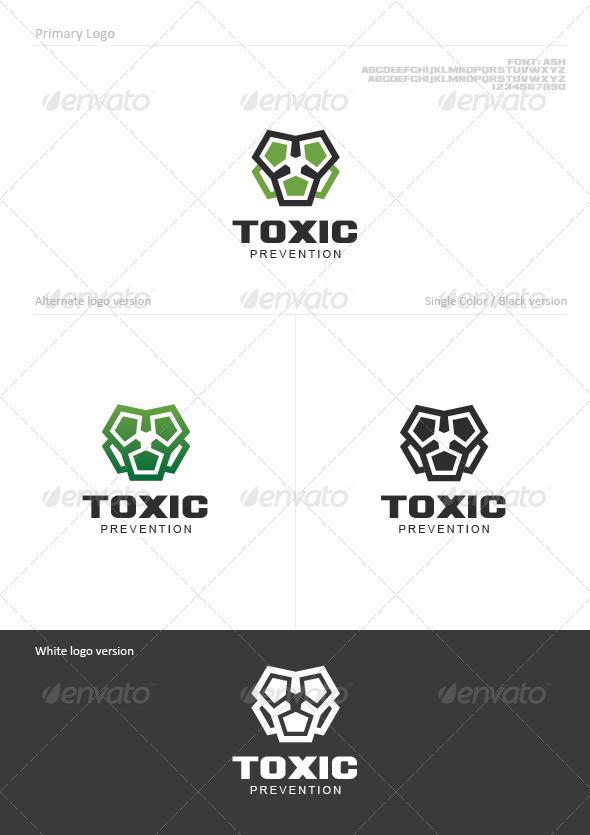 Toxic - Symbols Logo Templates