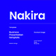 Nakira – Business PowerPoint Template