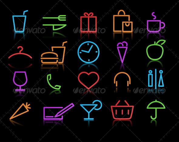 lifestyle Icons - Conceptual Vectors