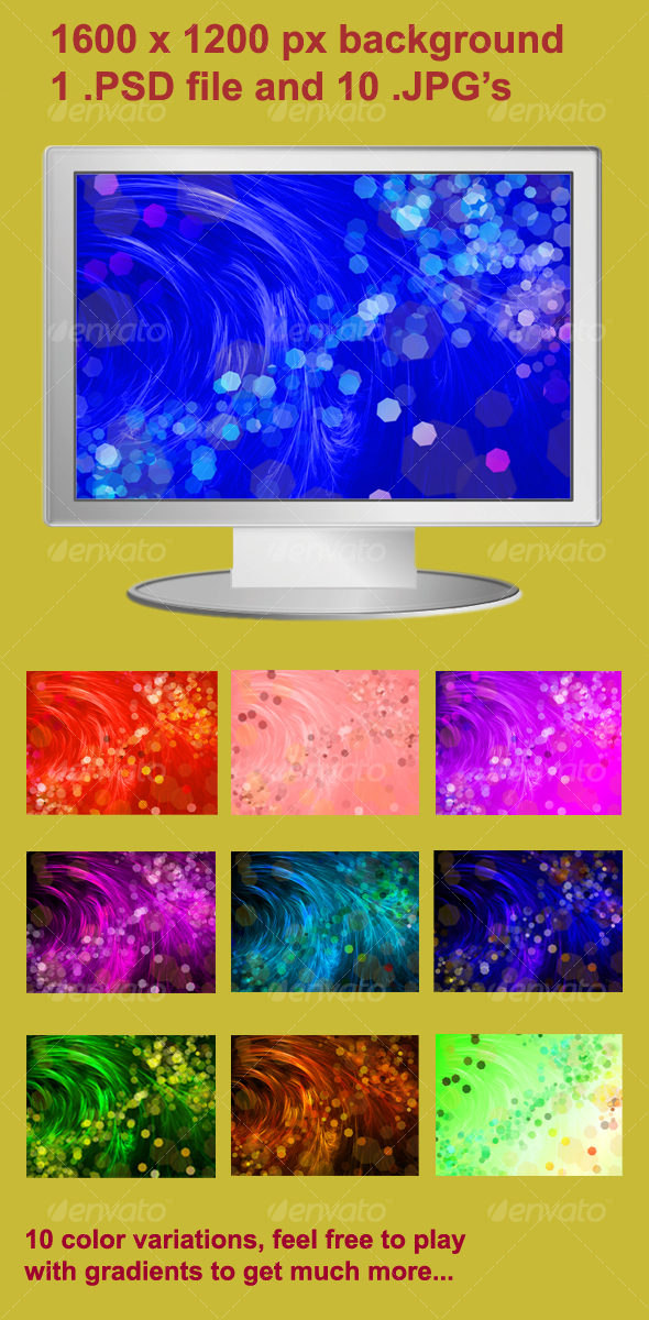 Abstract hair background - Abstract Backgrounds