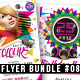 Psychedelic Club/Night Party Flyer Bundle #08 - GraphicRiver Item for Sale