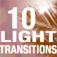 10 Light Transitions - VideoHive Item for Sale