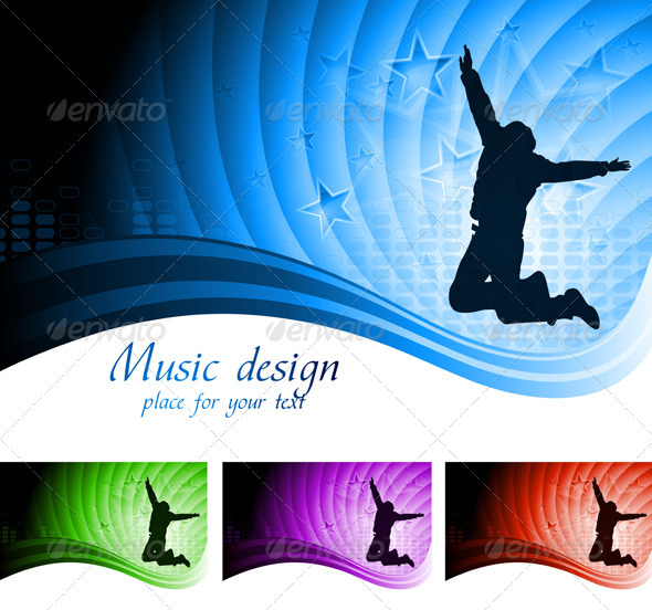 Beautiful musical backdrop - Backgrounds Decorative