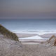 sand dune path to sea beach at dusk - PhotoDune Item for Sale