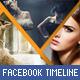 Triangles Facebook Timeline - GraphicRiver Item for Sale