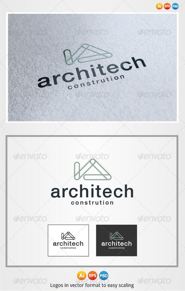 Architech Logo - Buildings Logo Templates