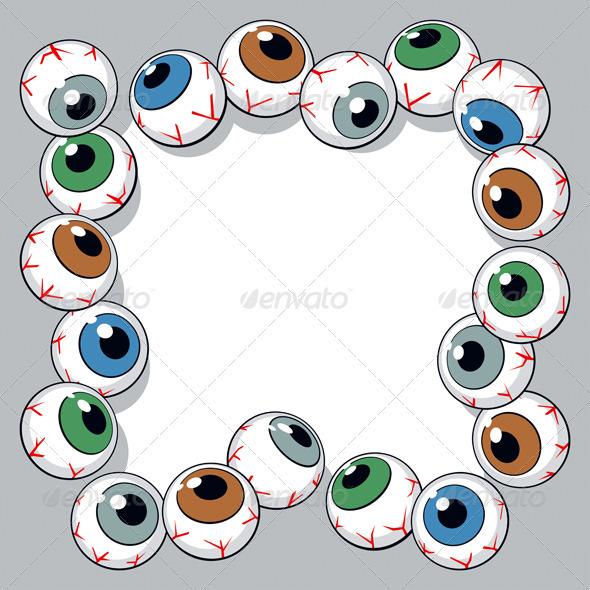 Eyeballs Frame - Miscellaneous Conceptual