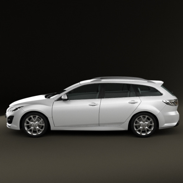 Mazda 6 Wagon 2011 by humster3d   3DOcean