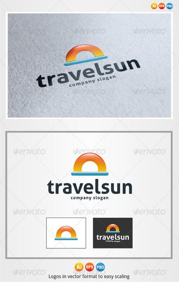Travel Sun - Symbols Logo Templates