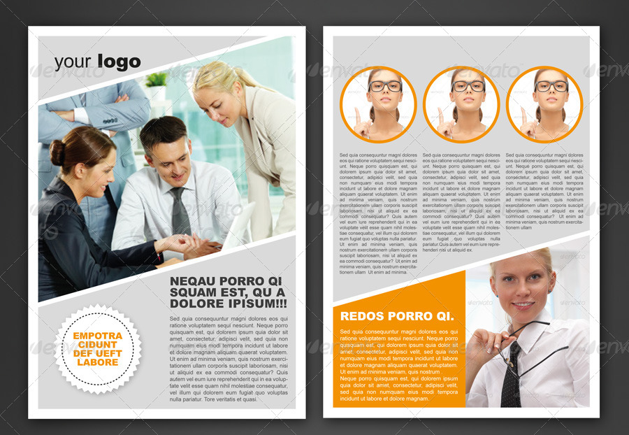 6 Pages Newsletter Newsletters Print Templates Preview 2 01 Page One Jpg 02 Two 03 Three