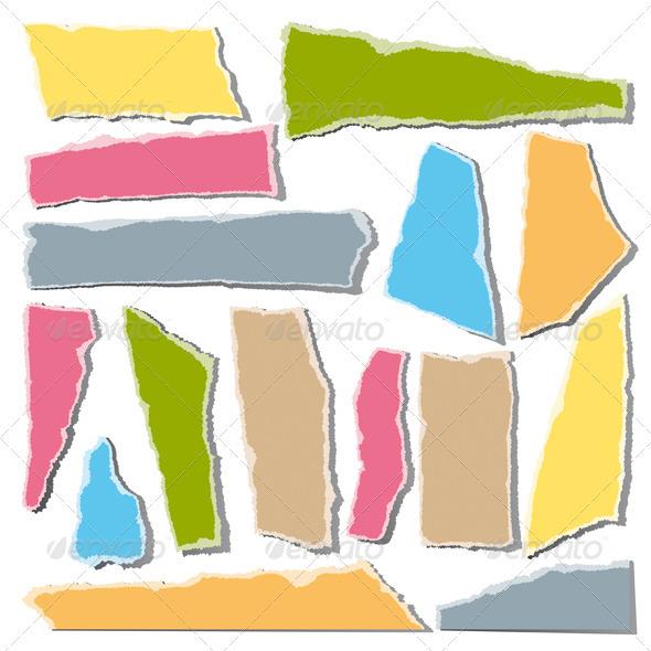 Torn Paper - Decorative Vectors