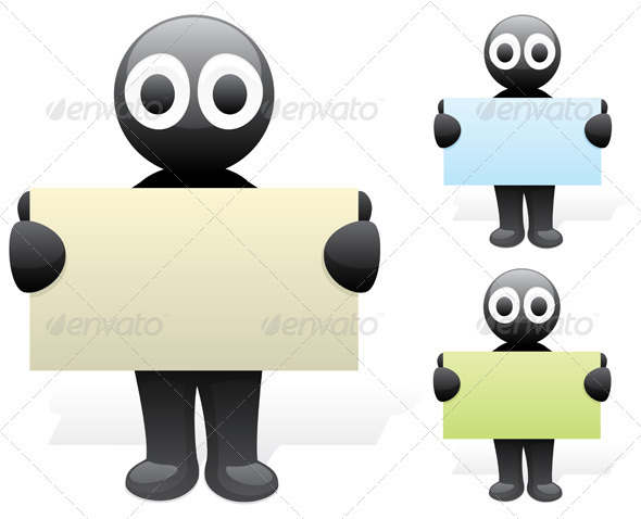 Inky's Business Card - Characters Vectors