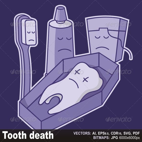 Tooth death - Characters Vectors
