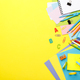 Colorful school stationary - PhotoDune Item for Sale