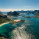 Panorama Beach Lofoten archipelago islands beach - PhotoDune Item for Sale