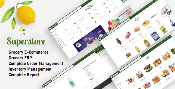 Superstore - Grocery Store + Super Shop Management