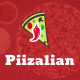 Piizalian - Fast Food Restaurant WordPress Theme