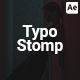 Stomp Typography Promo