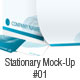 Stationary Mock-Up #01 - GraphicRiver Item for Sale