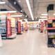 blurred supermarket aisle - PhotoDune Item for Sale