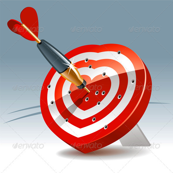 Heart Target - Valentines Seasons/Holidays