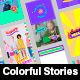 Stories Pack with Stickers - VideoHive Item for Sale