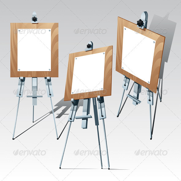 Easel - Man-made Objects Objects