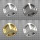 Arnold basic metal shaders for Cinema 4D