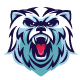 Polar Bear Mascot Esport Logo