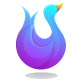 Swan Gradient Logo Template