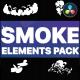 Cartoon Smoke Elements   DaVinci Resolve - VideoHive Item for Sale
