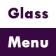 Glassmorphism Menu CSS3 and JS