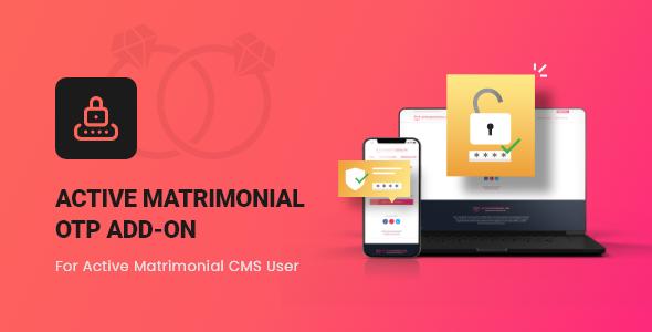 Active Matrimonial OTP add-on