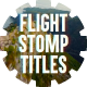 Flight Stomp Titles - VideoHive Item for Sale