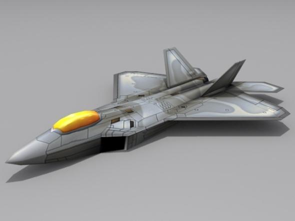 F/A-22 N Raptor II - 3DOcean Item for Sale