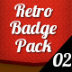 Retro Badge pack 02 - GraphicRiver Item for Sale