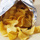 Eating Crunchy Potato Chips